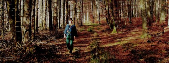 Annette im Wald